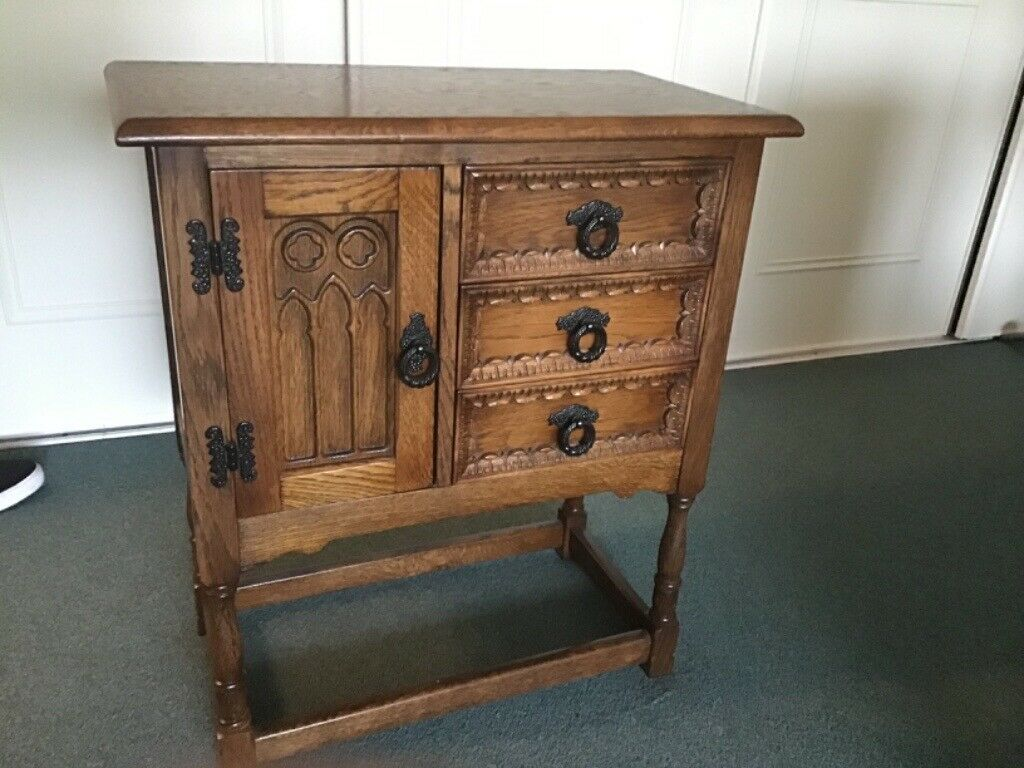 Oak Console Table   in Newcastle-under-Lyme, Staffordshire ...