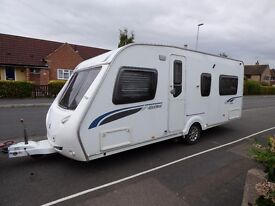 2008 STERLING ECCLES JEWEL CARAVAN 4 BERTH FULL ISABELLA AWNING, MOTOR MOVER, LOADS OF EXTRAS,