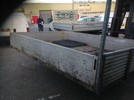 pickup body flat bed 250 cm long 213 cm wide £175