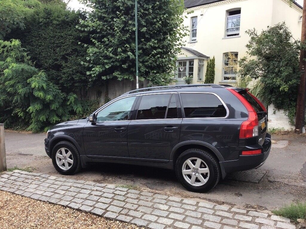 Volvo XC90 D5 Active Manual AWD Grey 2009 - excellent condition