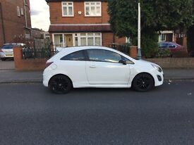 Vauxhall Corsa White Limited Edition