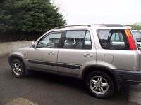 Honda CRV 1999 mot sept 17...good runner