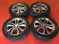 17'' GENUINE MERCEDES C CLASS W205 NEW MODEL C CLASS ALLOY WHEELS TYRES