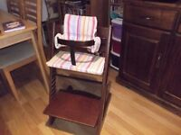 Stokke Tripp Trapp High Chair. High chair grows with child - baby to teen
