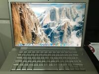 SILVER APPLE LAPTOP MODEL NO A1150 RATED 18.5 ,AS A SPAIR PART,BARGAIN PRICE