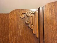 Beautiful Art Deco-style wooden wardrobe