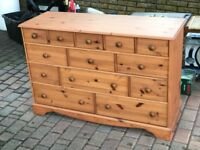 Merchants Chest - 13 Drawers - Very Good Condition