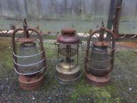 Old vintage Tilly oils lamps