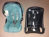 GRACO car seat and car base 0-13kg