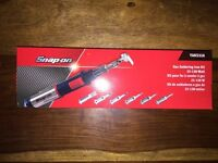 SNAP ON BRAND NEW GAS SOLDERING IRON 7 TIP KIT 130 WATT + FREE SNAP ON BEANIE AND POCKET SCREWDRIVER