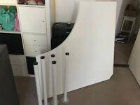 Corner desk Ikea Adils/Linnmon £25