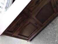 Large pine sideboard