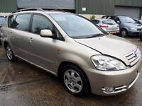 toyota avensis verso 2.0 d4d parts from a 2003/04 car gold or grey