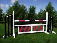 Horse Jumps, poles, wings, fillers and planks for sale