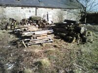 Firewood - Mixed logs, cut logs and sticks