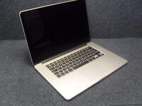 2014 Apple Macbook Pro 15 Retina Display i7 2.2Ghz 16GB 1.5GB Iris GPU (NO SSD)