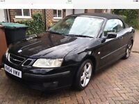 Saab 9-3 vector convertible 2005 one lady owner,very low mileage p-ex welcome needs attention