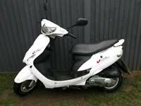 Peugeot v click 50cc one year mot full logbook two keys 495 ono