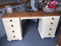 Solid Pine Dressing Table/Desk £125