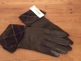 Bnwt leather Barbour Gloves