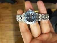 Ladies omega seamaster watch - px maybe for rolex cartier tag