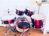 Drum Kit - Mapex Tornado, Burgundy