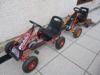 2 x childs go-karts