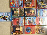 13 thomas the tank dvds