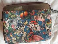 Tropical theme ipad or small laptop case