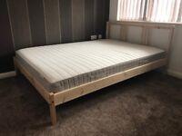 "Wooden IKEA Bedframe ""FJELLSE"" £30"