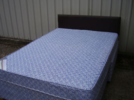 Lovely Double bed 12 months old, hardly used, kept in spare bedroom.