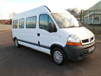 RENAULT MASTER DCI 14 SEAT MINIBUS MOBILITY WHEEL CHAIR LIFT