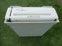 SHREDDER for PAPER in GOOD WORKING ORDER..ONLY £5