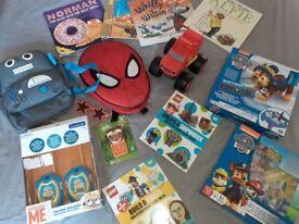 Toy Bundle Paw Patrol, Spiderman, Minions Excellent Condition
