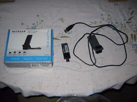 *FOR SALE - NETGEAR N300 Wireless USB Adapter (WNA3100)*