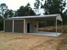 SHEDS 12X6X3.0 GARAGE COLORBOND SHED GARAGE SHEDS WARWICK Warwick Southern Downs Preview