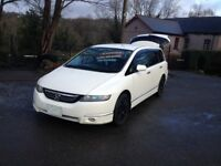 HI SPEC AUTO HONDA ODYSSEY STEP WAGON 7 SEATER LOW MILES/ONE UK OWNER/1st REG UK 2015/HONDA ACCORED