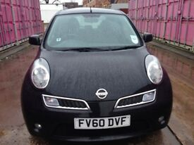 2010 NISSAN MICRA 1,2 3 DOOR MILEAGE 53450 £ 2499 NO VAT