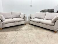 Grey next 3&2 seater sofas, SOLD PENDING DELIVERY