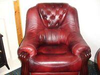 Saxon Leather chair.excellent condition.