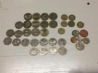 Coin collection £2 50p