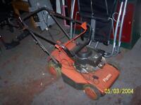 flymo petrol lawnmower for spares or repair