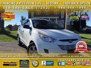 2012 Hyundai Tucson GL-$57/Wk-Bluetooth-Htd Sts-USB/AUX/CD/Mp3-C