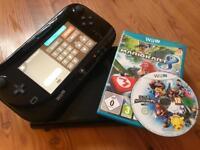 Nintendo Wii U 32gb an 2 games