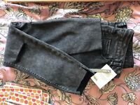 ASOS Black Denim- Brand new with tag. Waist 30, 29S
