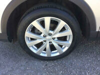 MGZS SUV 7 x 17 ALLOY WHEELS AND TYRES EXCEPTIONAL CONDITION WILL SPLIT