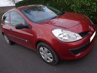 56 reg renault clio 1.5 dci diesel with long mot cheap tax only £30 a year and DELIVERY
