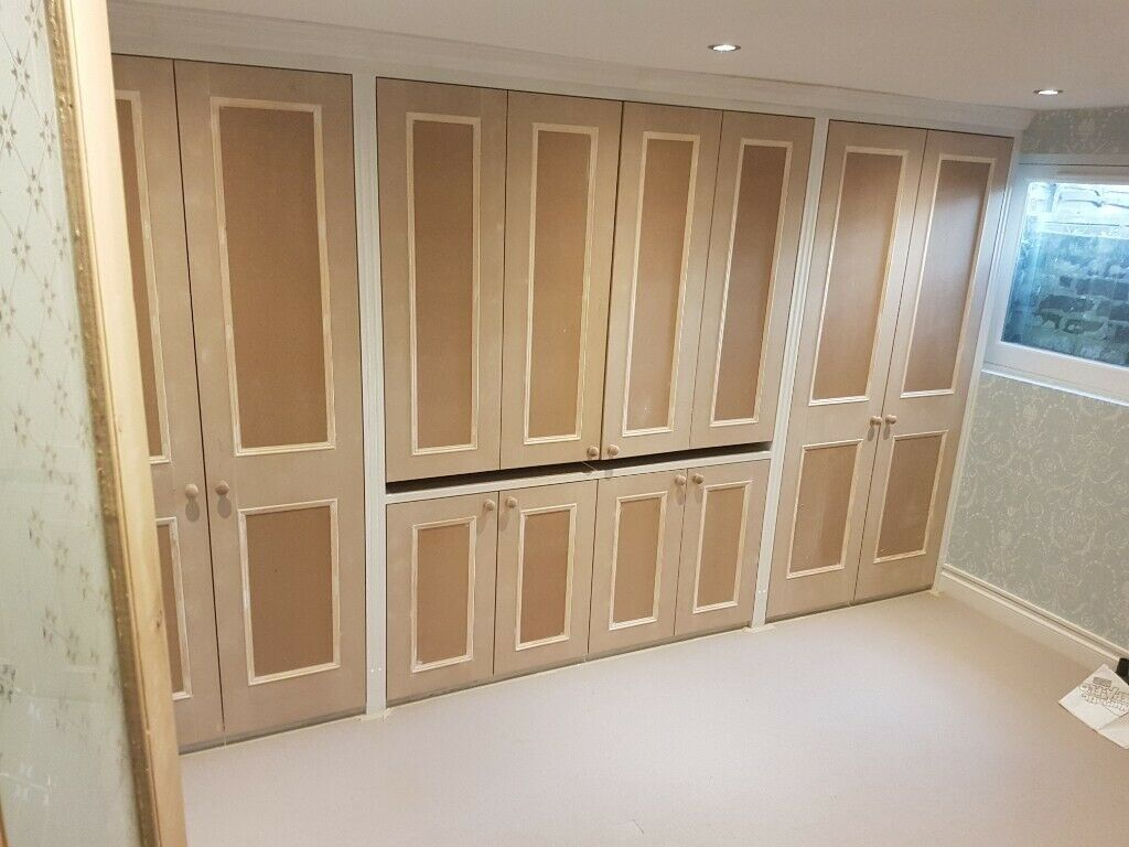 Cheap Budget Bespoke Fitted Wardrobes Alcove Bookshelves