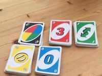 UNO Card Game. Complete but no box. Great fun for all the family. can post or collect from Torquay.