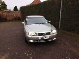 FOR SALE IMMACULATE 2005 VOLVO S80 SE 170 BHP AUTO